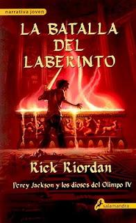 Percy Jackson y la batalla del laberinto de Rick Riordan