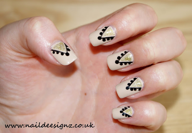 christine's nail design - easy
