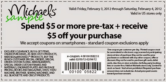 Michaels coupons canada retailmenot