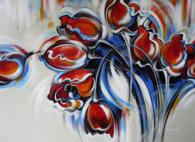 Envol de la tulipe, série Solitude 2