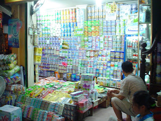 Shop in a Vietnamese market
