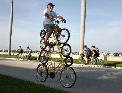 dziwny, rower, nietypowy, zabawny, ciekawy, innowatorski, sport, Rower, weird, bicycle, wiosna, jak przerobić stary rower, bizzare,