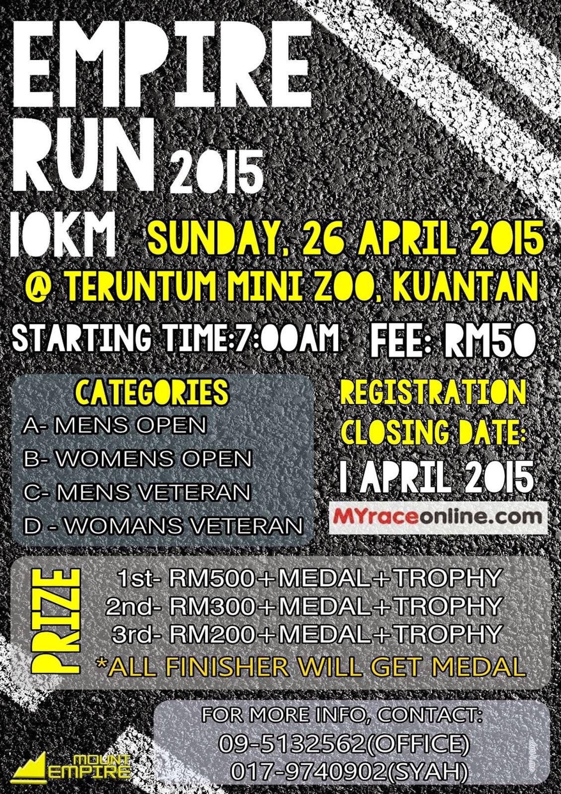 Empire Run 2015 Kuantan