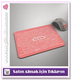 100 Dilde Seni Seviyorum Mouse Pad