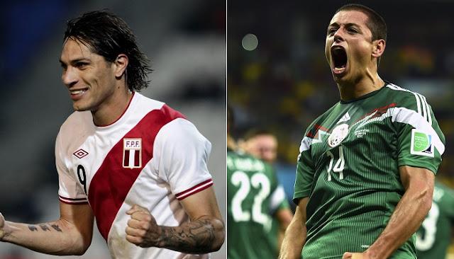 Peru vs Mexico en vivo