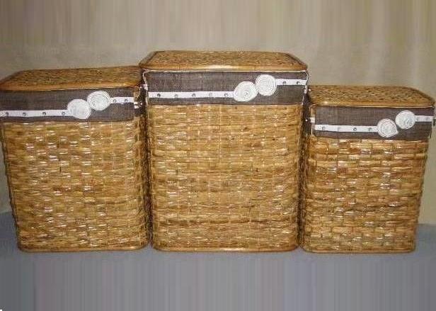 Cester a y mimbre organiza tu hogar 2 cestas para la - Cesta ropa sucia ...