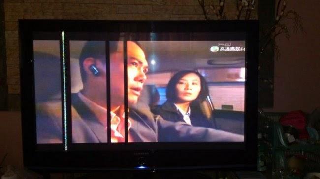 Tại sao màn hình tivi Samsung bị sọc ngang, dọc?