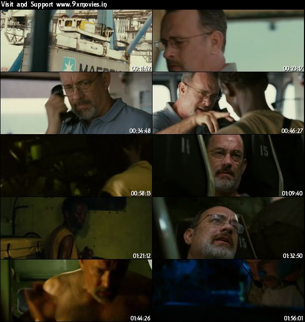 Captain Phillips 2013 Dual Audio Hindi 480p BRRip