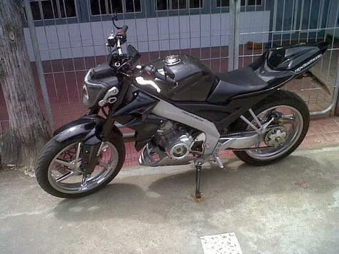 8 Deretan Modifikasi Yamaha Vixion Streetfighter