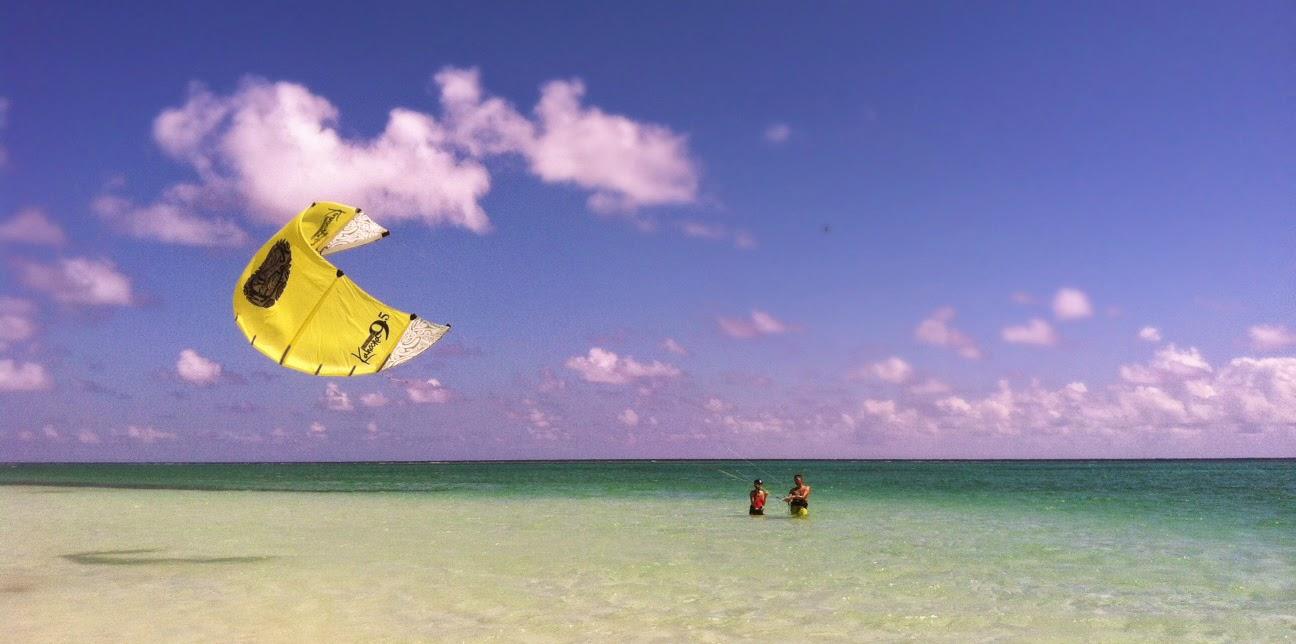 short lines kitesurf lesson