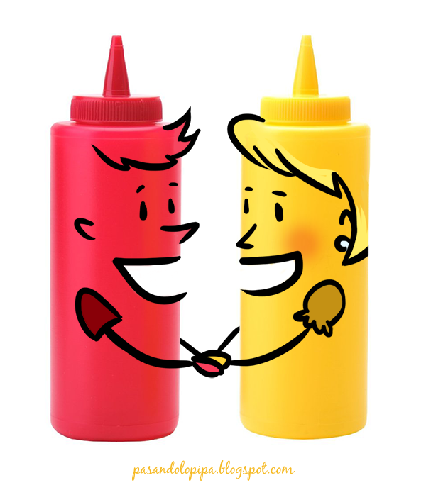 pasandolopipa | Mostaza y Ketchup