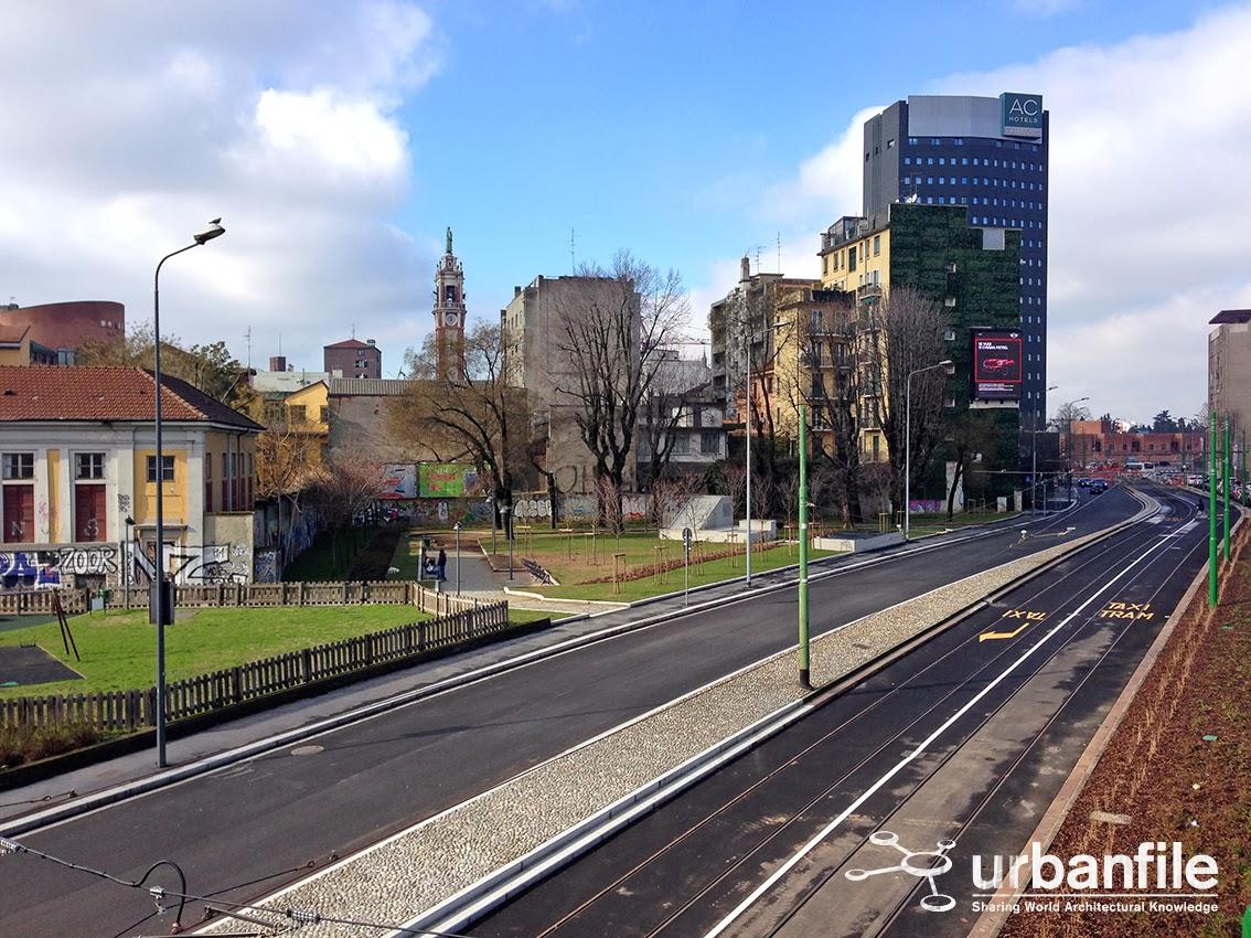 Urbanfile milano zona porta garibaldi via ferrari e - Treno bergamo milano porta garibaldi ...