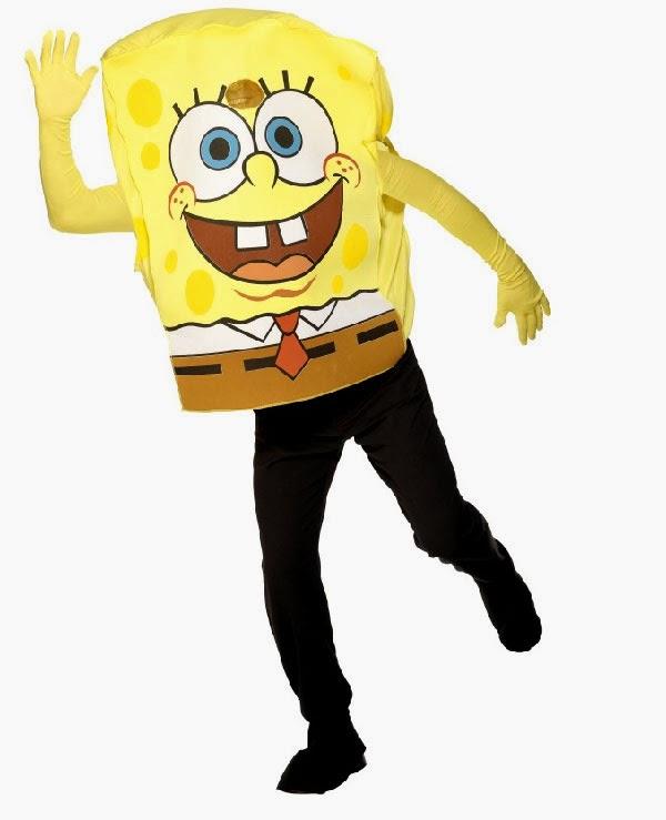 Svampe Bob kostume