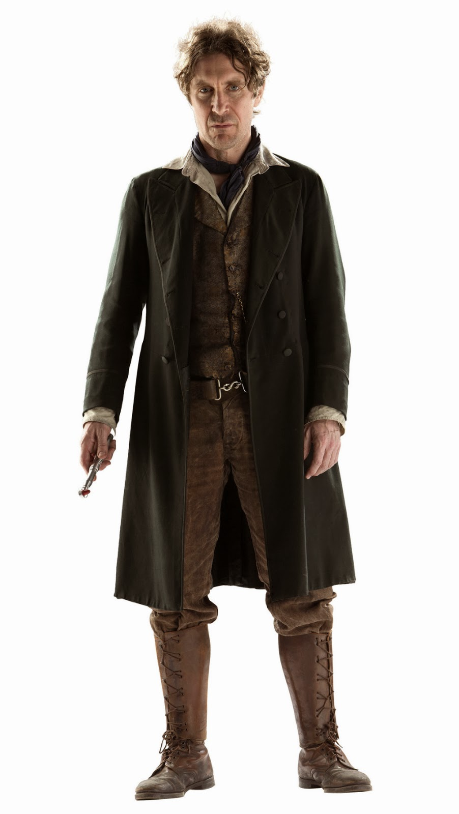 Paul McGann as the Eighth Doctor in his Battle Dress