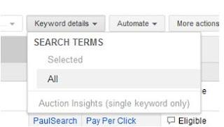 Google AdWords, PPC, Pay Per Click, Keywords, Long Tail