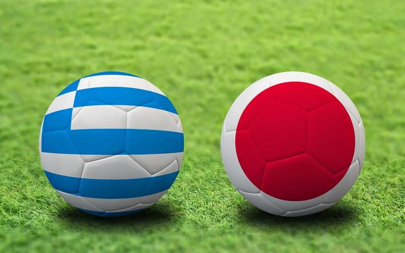 Japón 0 - 0 Grecia. Grupo C