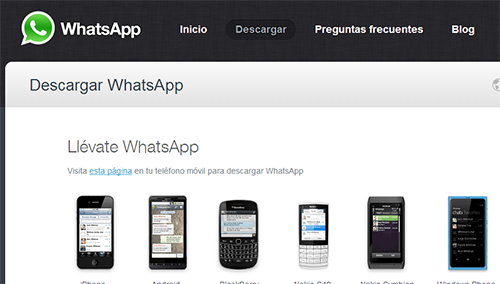 aplicacion whatsapp para moviles