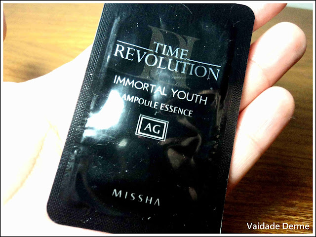 Time Revolution Immortal Youth Ampoule Essence AG Missha