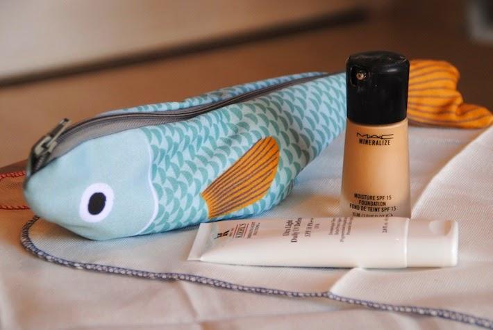 maquillaje y protección solar