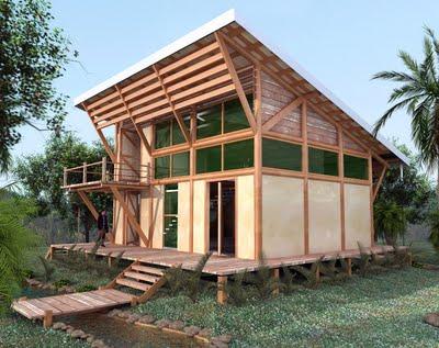 Casa ecol gica - Casa ecologica prefabricada ...