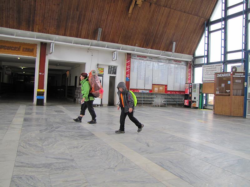 Dworzec kolejowy Čadca.