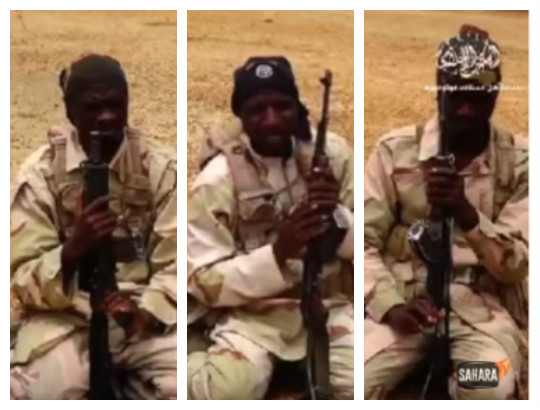 JUST IN: Freed Boko Haram members brag in video claims Nigaria Force are lieing about their take over of Sambisa