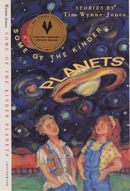 """Some Kinder Planets"" Children's Book CoverIllustration"