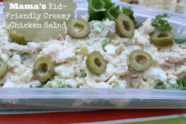 Mama's Kid-Friendly Creamy Chicken Salad Recipe
