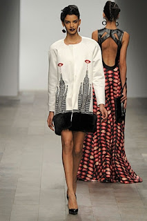 Holly Fulton, RTW, A/W 2011, New York skyscraper jumper