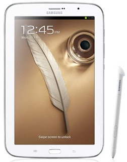 Gambar Samsung Galaxy Note 8 inch putih