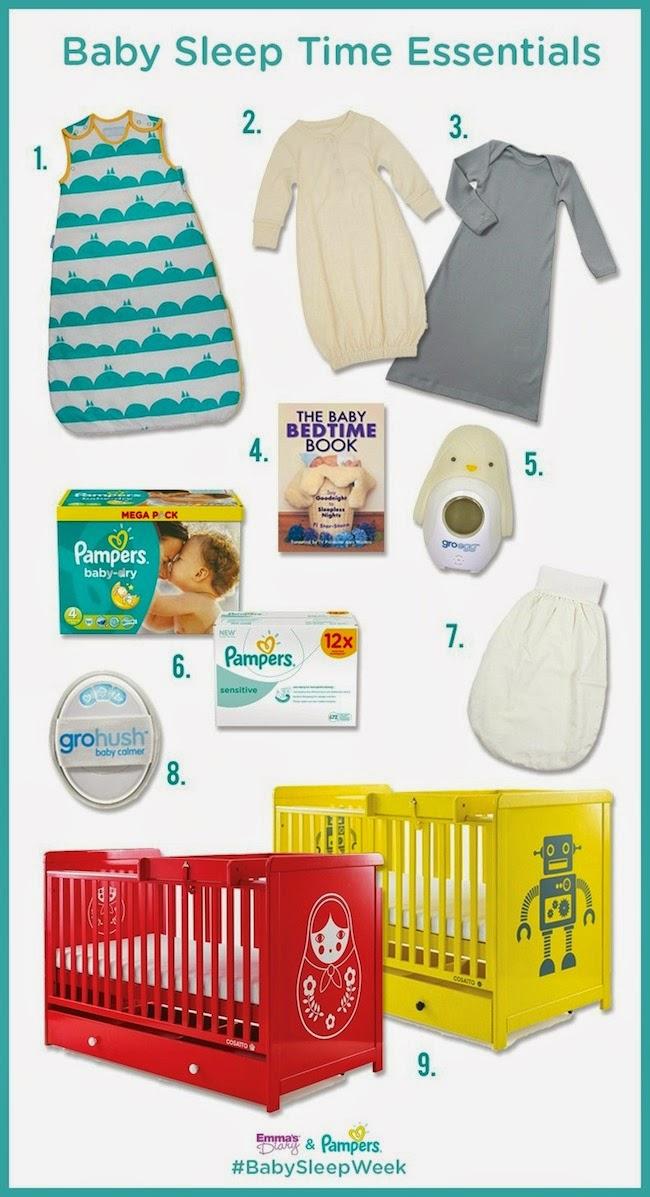 Baby Sleep Time Essentials
