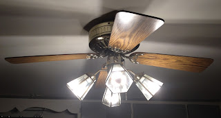 ceiling fan with LED lights