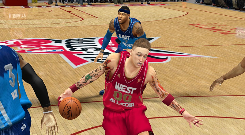 nba 2k17 how to get players to cut