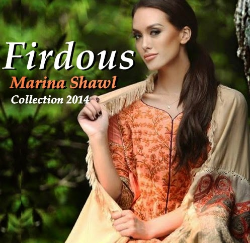 Marina Shawl 2014-2015 by Firdous