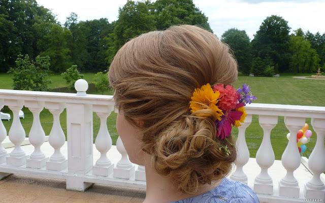 fryzura na wesele warszawa