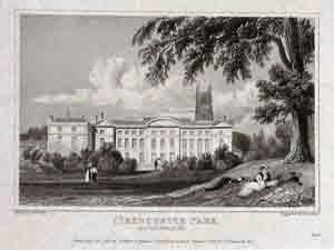 Cirencester Park Is A Country House In The Parish Of Gloucestershire England And Seat Bathurst Family Earls
