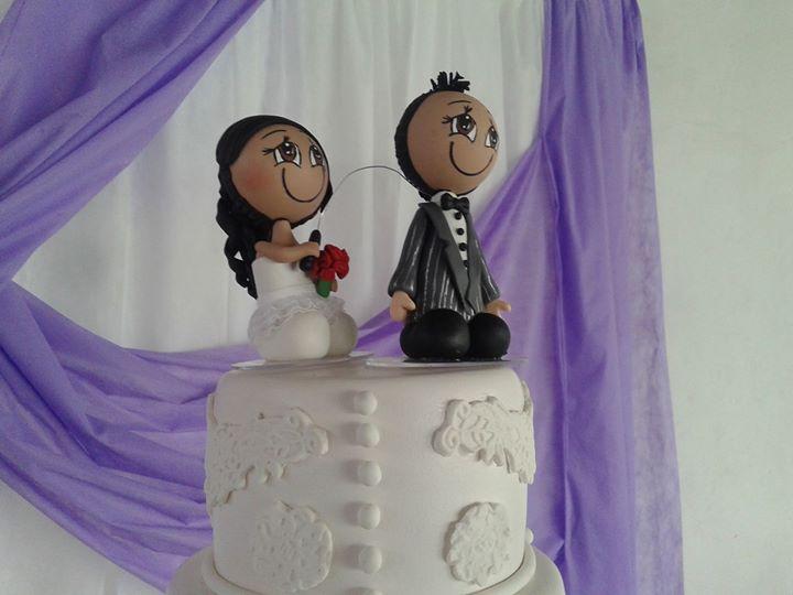 noivinhos do meu casamento