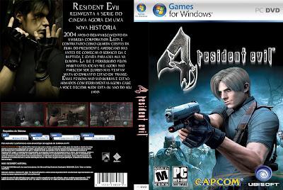Resident Evil 4 PC DVD Capa