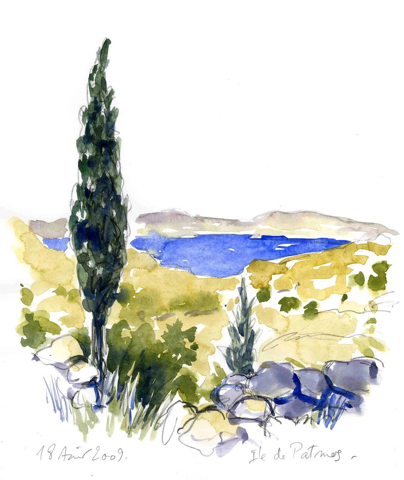 Patmos, 18 août 2009