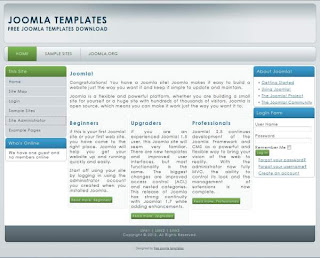 portal joomla 2.5 templates