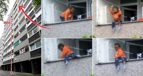 2yr Old Baby HANGS FROM BALCONY On TALL BUILDING!!!...VIDEO