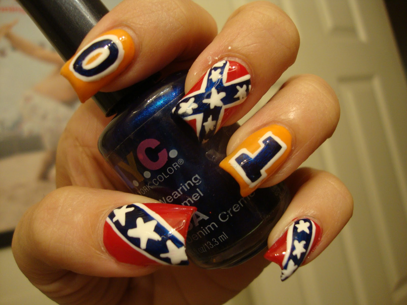 Country Girl Nail Designs