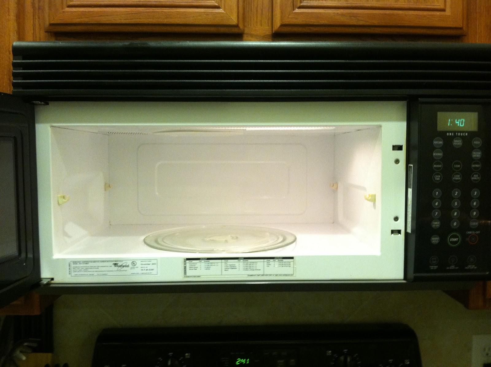 Dirty Microwave Oven ~ Supremacy home remedy clean microwave