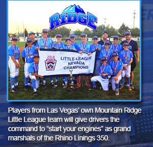 The Mountain Ridge Little League All-Stars
