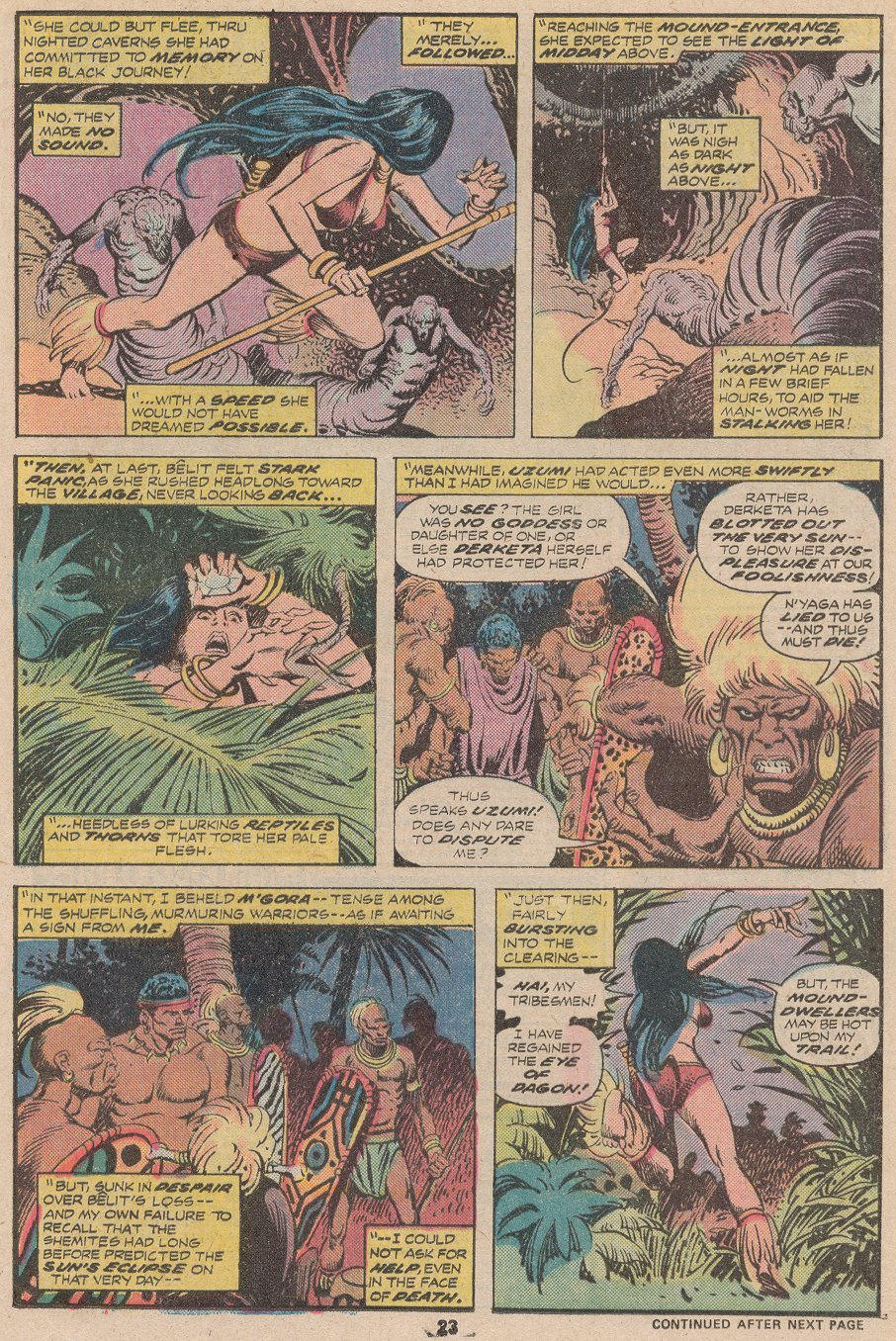 Conan the Barbarian (1970) Issue #59 #71 - English 16