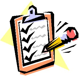 Image result for checklist clipart images