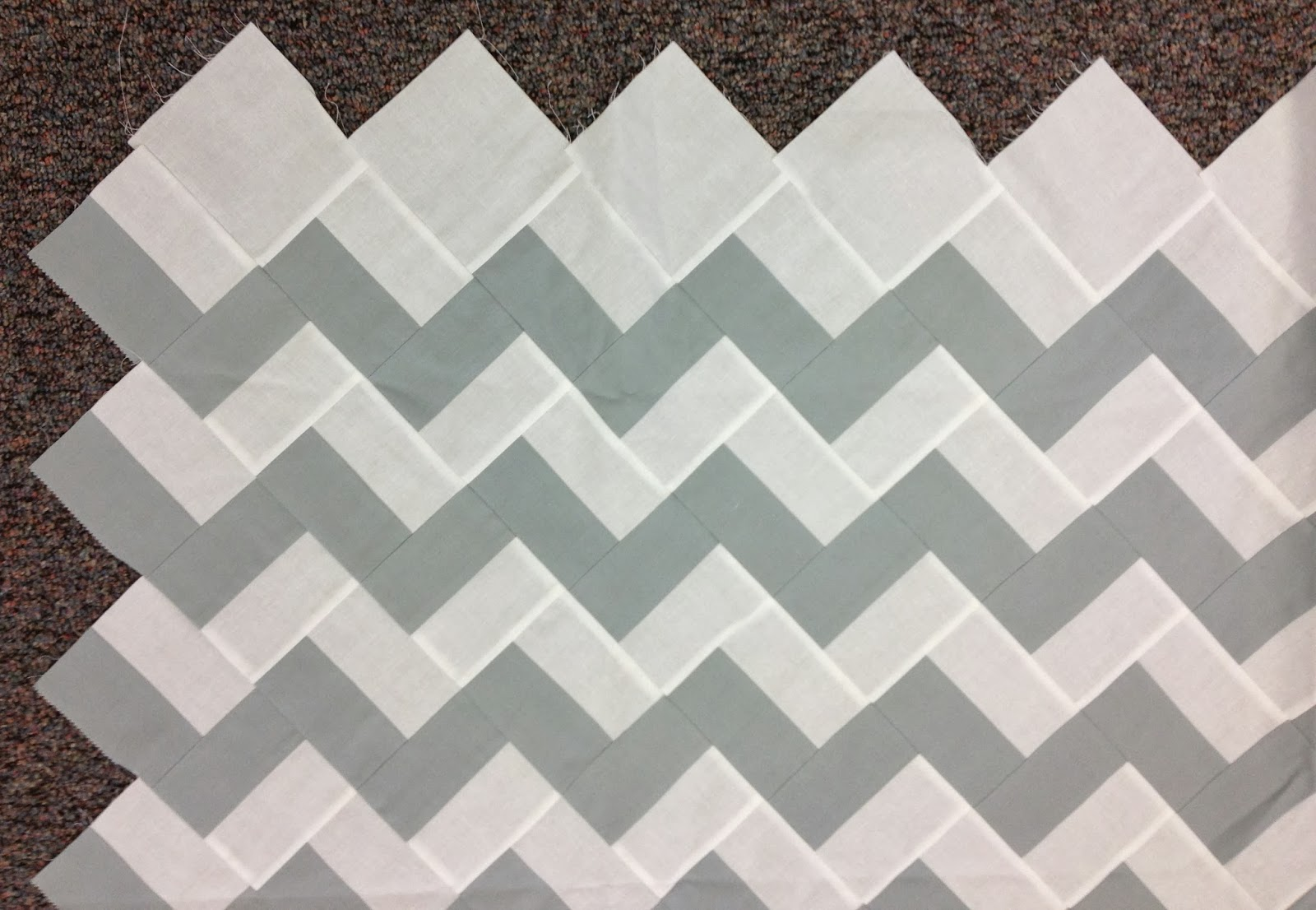 Chevron Quilt Pattern Using Jelly Roll : Music City Modern Quilters Guild: September 2013