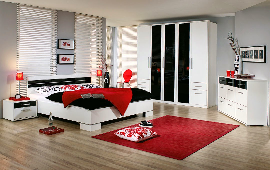 Red and Black Bedroom Decor Ideas dashingamrit . - His And Hers Bedroom Decor > PierPointSprings.com