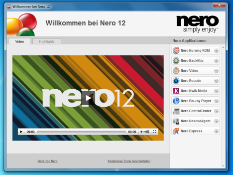Nero free download for windows xp sp2