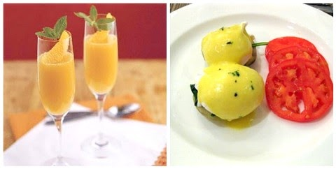 Cooking: Eggs Sardou and Grand Mimosa's! New Orleans Mardi Gras Style ...
